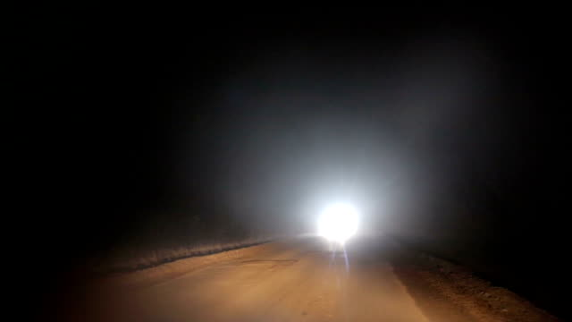 bad weather and dangerous automobile traffic on the road - headlight stock videos & royalty-free footage