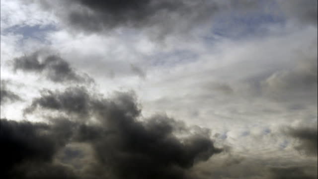bad weather clouds moving in the sky - uncertainty stock videos & royalty-free footage