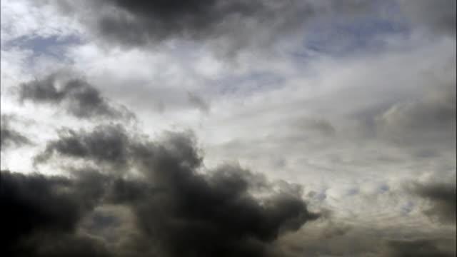Schlechtes Wetter Wolken am Himmel