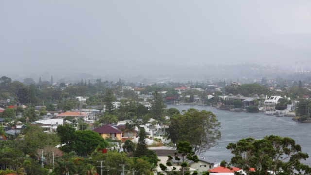 bad weather in australia caused by a cyclone - storm stock videos & royalty-free footage