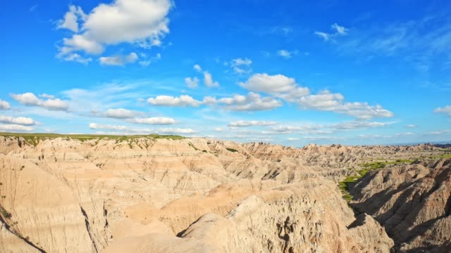 バッドランズ国立公園 - バッドランズ国立公園点の映像素材/bロール