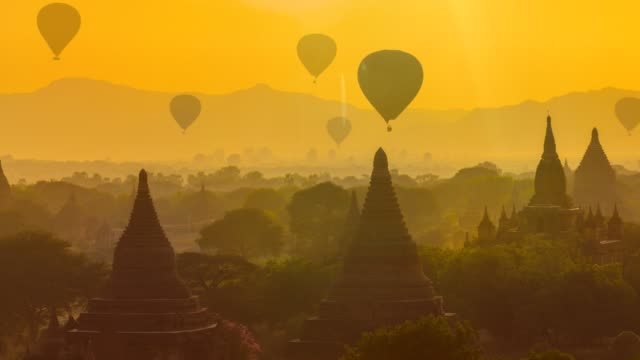 bagan, myanmar - ruined stock videos & royalty-free footage