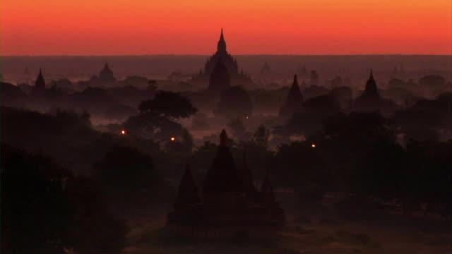 Bagan ruins in Myanmar