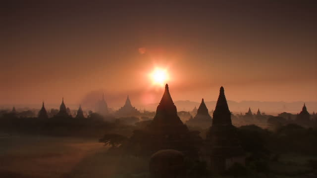 bagan - antiquities stock videos & royalty-free footage
