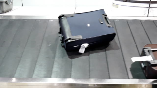 Baggage belt.