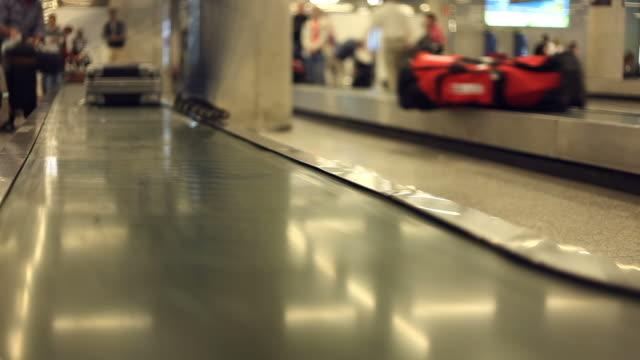 Des Gepäckbands-Zeitraffer