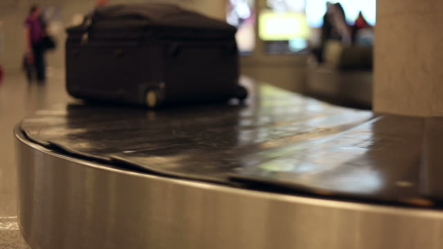 baggage carousel - carousel stock videos and b-roll footage