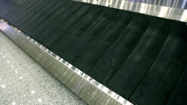 baggage carousel - sparse stock videos and b-roll footage