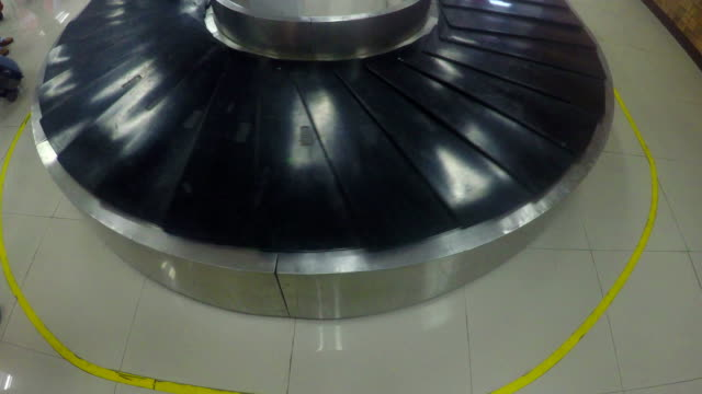 Baggage claim at airport