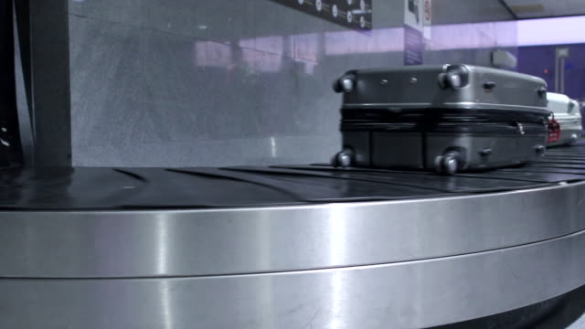 baggage claim carousel - patient journey stock videos & royalty-free footage