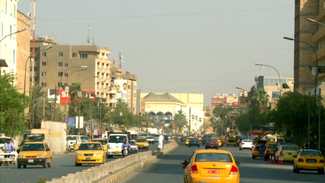 baghdad street  2012 - baghdad stock videos & royalty-free footage