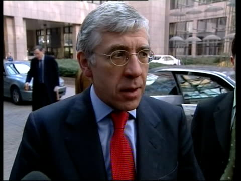 u'lay jack straw mp intvw england london ext jack straw mp interview sot shock and outrage at this audacious attack in baghdad/ terrorists have yet... - jack straw stock videos and b-roll footage