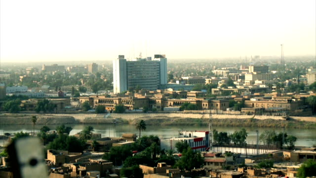 baghdad tigris river 2012 - baghdad stock videos & royalty-free footage