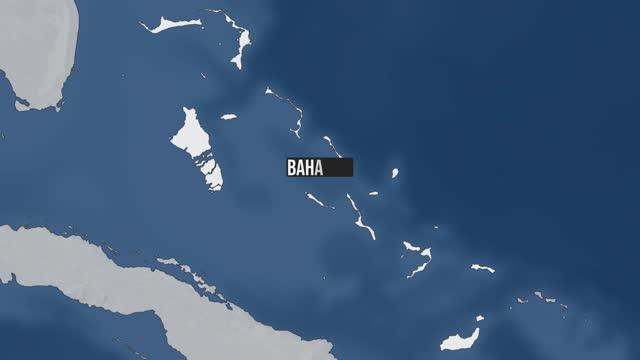 stockvideo's en b-roll-footage met bahama's kaart zoom - politiek en staatsbestuur