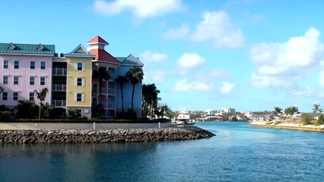 bahamas marina - nassau stock videos & royalty-free footage