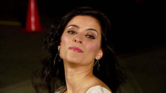 bahar soomekh at the 16th annual environmental media awards at ebell theater in los angeles, california on november 8, 2006. - environmental media awards stock-videos und b-roll-filmmaterial