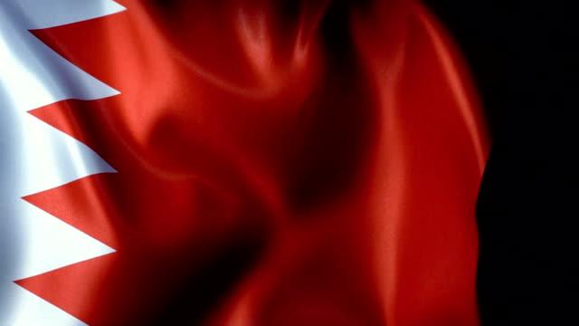 bahrain flag flapping - basra stock videos & royalty-free footage