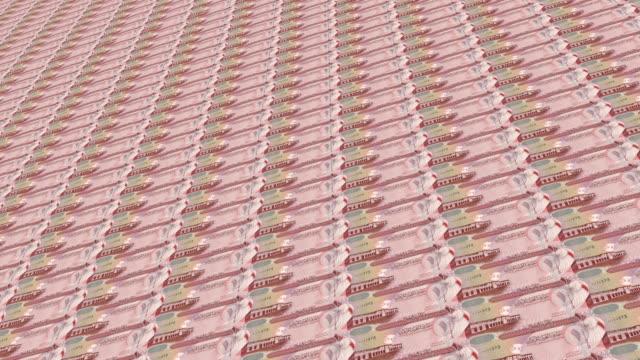 bahraini, bahrain dinar notes - dinar stock videos & royalty-free footage