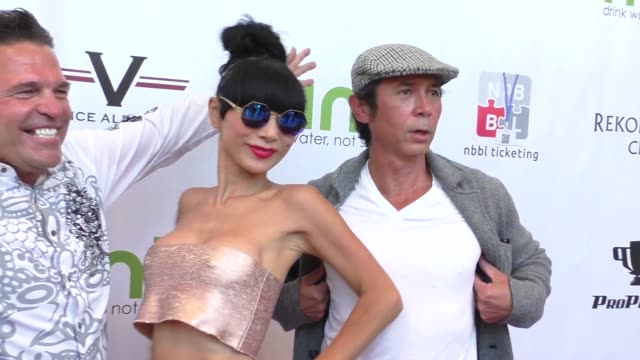 vídeos de stock, filmes e b-roll de bai ling and lou diamond phillips at the peace fund's 2nd annual celebrity poker tournament at the reserve in playa vista at celebrity sightings in... - bai ling