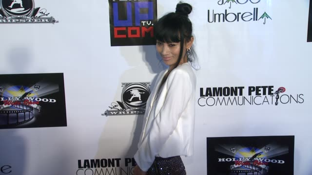 vídeos de stock, filmes e b-roll de bai ling at chris brown and nick cannon host party after bet awards 2013 on 6/27/2013 in los angeles ca - bai ling