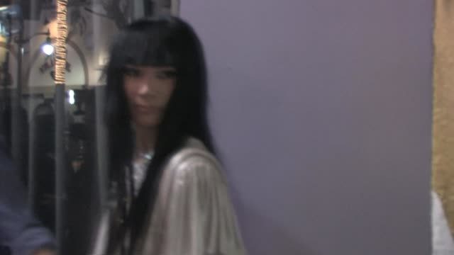 vídeos de stock, filmes e b-roll de bai ling at my studio in hollywood at the celebrity sightings in los angeles at los angeles ca - bai ling