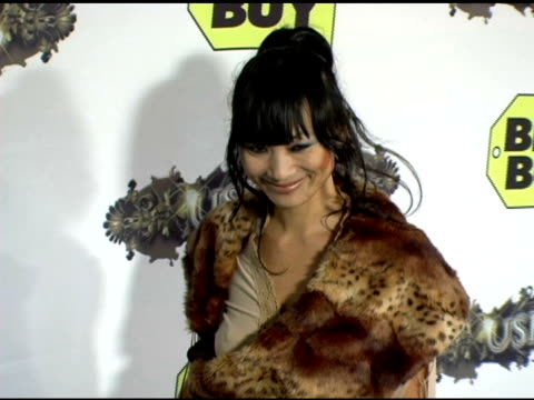 bai ling at the exclusive truth tour dvd launch party hosted by usher at the hollywood roosevelt hotel in hollywood, california on october 18, 2005. - usher stock videos & royalty-free footage