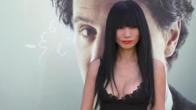 bai ling at the premiere of national geographic's 'genius' on april 24, 2017 in los angeles, california. - genius stock videos & royalty-free footage