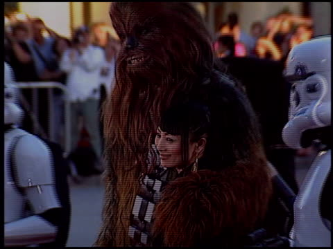vídeos de stock, filmes e b-roll de bai ling at the 'star wars: episode iii - revenge of the sith' premiere on may 12, 2005. - bai ling