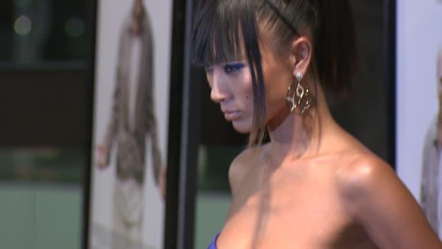 vídeos de stock, filmes e b-roll de bai ling at the 'whatever works' premiere at west hollywood ca - bai ling