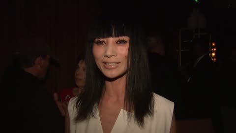 bai ling at thewrap.com pre-oscar party on 2/22/2012 in beverly hills, ca. - oscar party stock videos & royalty-free footage