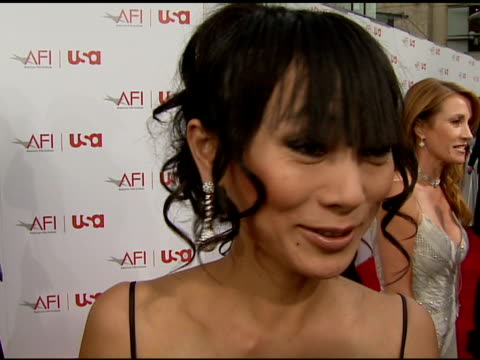 Bai Ling on Sean Connery as Bond on how sexy Connery is at the 34th AFI Life Achievement Award A Tribute To Sean Connery at the Kodak Theatre in...
