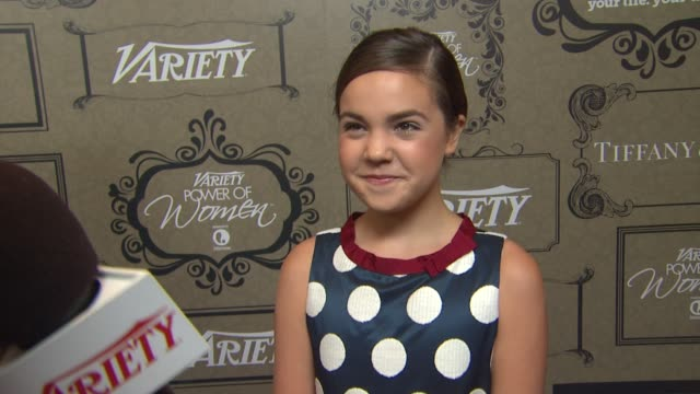 Bailee Madison on why she wanted to attend why its important to give back being a past honoree for the Power of Youth what projects she has coming up...