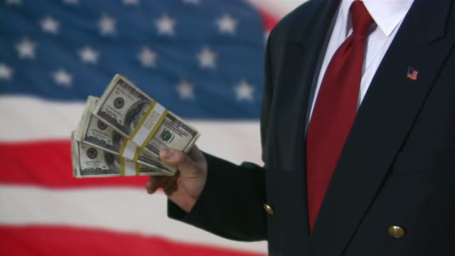 bailout. money from us government. business, recession, depression, stimulus plan. - government stock videos and b-roll footage