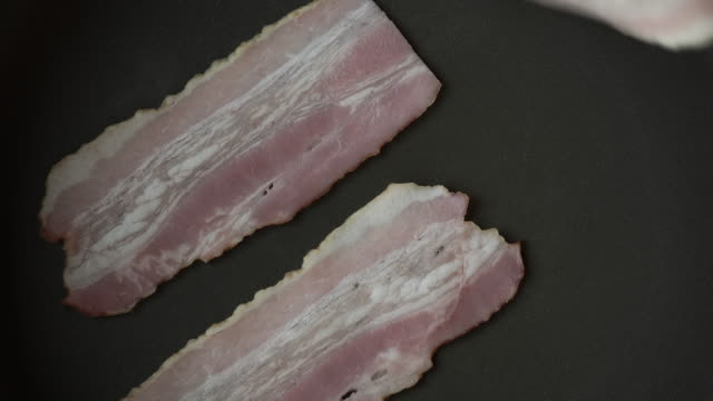 bake browned bacon - bacon stock videos & royalty-free footage
