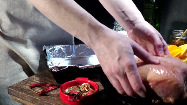 Bakad kycklingbröst matlagning