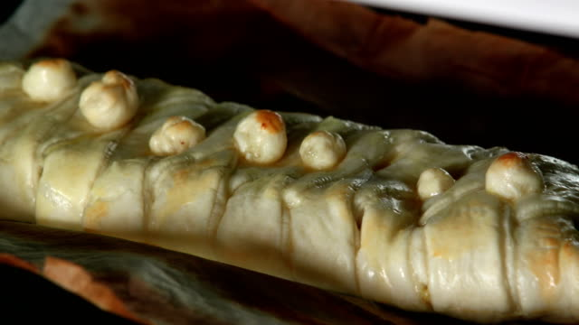 baked pastry time lapse - puff pastry stock videos & royalty-free footage