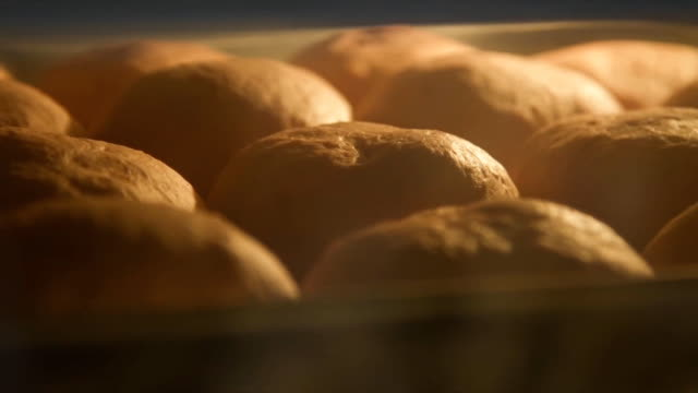 baking bread - bakery stock videos and b-roll footage