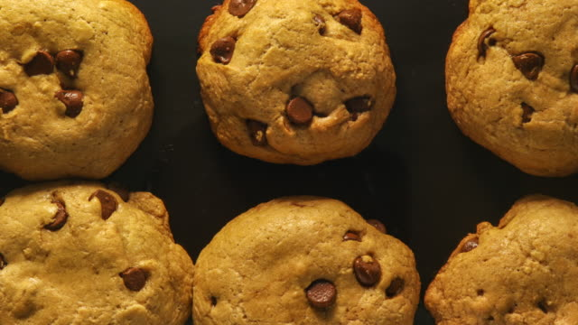 baking chocolate chip cookies: concept - baking stock videos & royalty-free footage