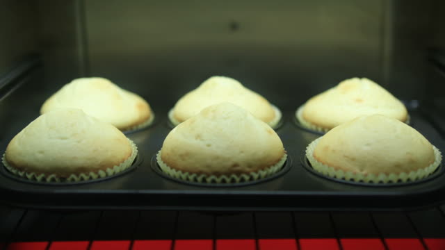 baking muffins - muffin stock videos and b-roll footage