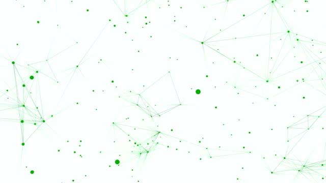 bağlantı loop - plexus stock videos & royalty-free footage