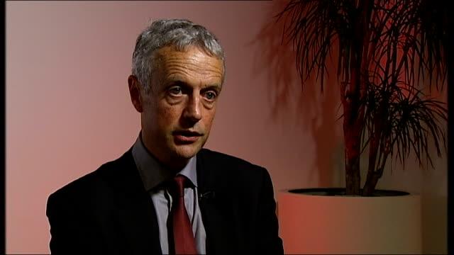 Francis Egan interview ENGLAND London GIR INT Francis Egan interview SOT
