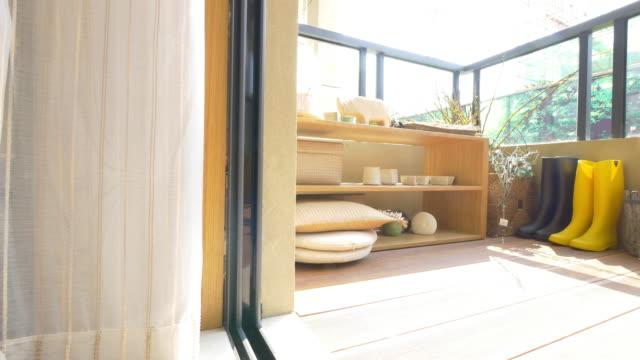balcony interior 4k