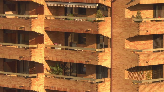 balcony - toulouse stock videos & royalty-free footage