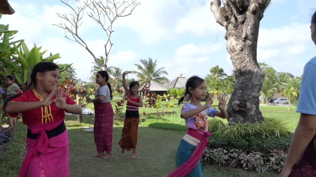 bali dancers - balinese culture stock videos & royalty-free footage