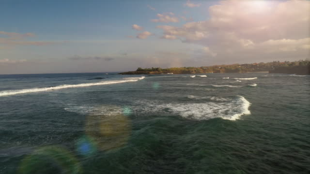 bali waves - indonesia stock videos & royalty-free footage