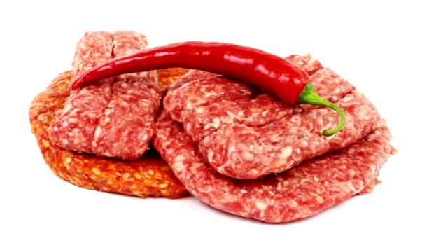 piatto balcani - grigliare video stock e b–roll