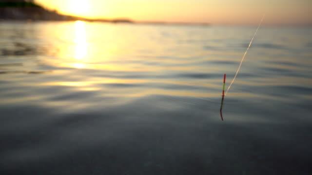 vídeos y material grabado en eventos de stock de martillo de bola y el mar - caña de pescar