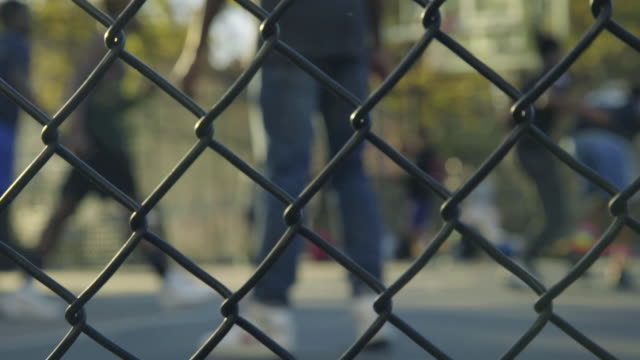 ball out - chainlink fence stock videos and b-roll footage