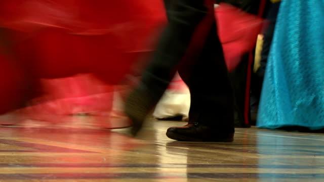 ball - ballroom dancing stock videos & royalty-free footage