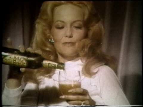 montage ballantine ale commercial - 1970 stock videos & royalty-free footage